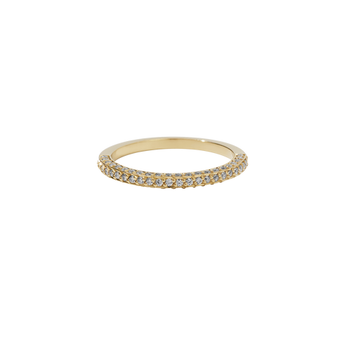 Beau Eternity Band Half Set | 9ct Yellow Gold