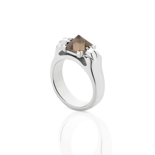 Cat Paw Pyramid Ring | Sterling Silver
