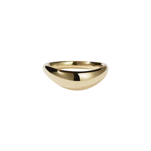 Claude Band Plain | 9ct Yellow Gold