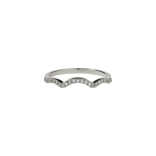 Clementine Band Pave | 14ct White Gold