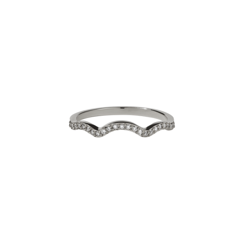 Clementine Band Pave | 18ct White Gold
