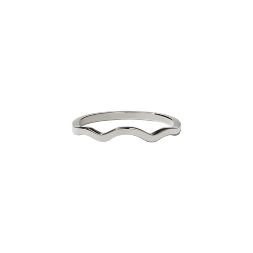 Clementine Band Plain | 9ct White Gold