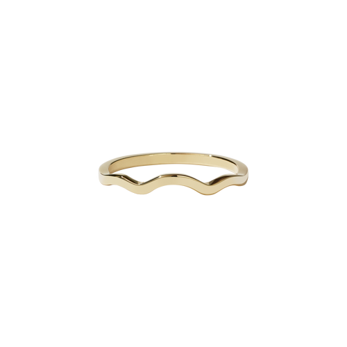 Clementine Band Plain | 9ct Yellow Gold