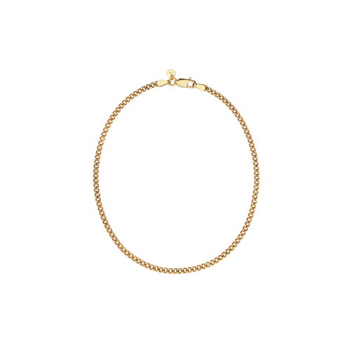 Curb Chain Anklet | 9ct Yellow Gold