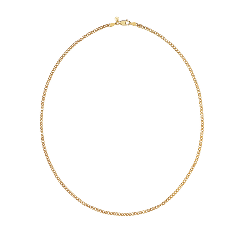 Curb Chain Necklace | 9ct Yellow Gold