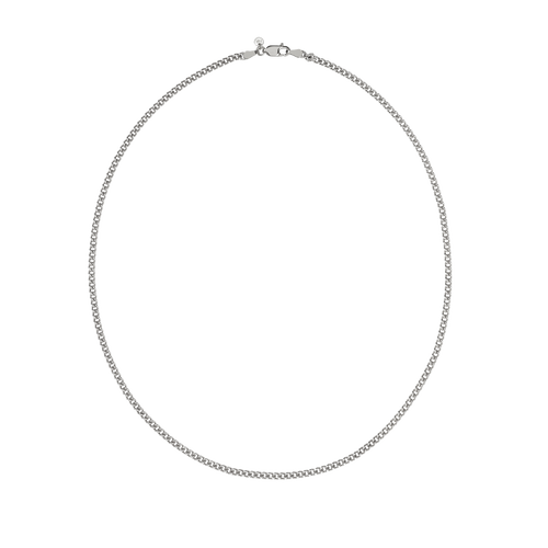 Curb Chain Necklace | Sterling Silver