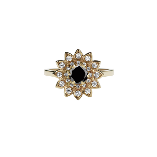Dahlia Ring | 9ct Yellow Gold
