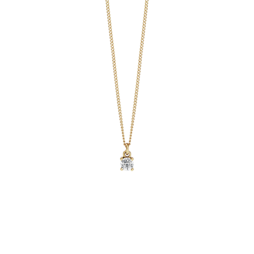 Della Necklace | 9ct Yellow Gold