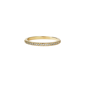 Diamond Eternity Band | 9ct Yellow Gold