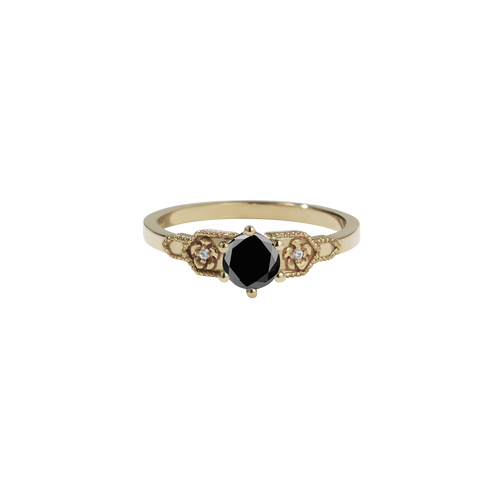 Eternal Engagement Ring 0.5ct | 9ct Yellow Gold