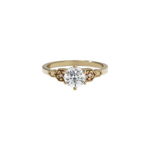 Eternal Engagement Ring 0.8ct | 9ct Yellow Gold