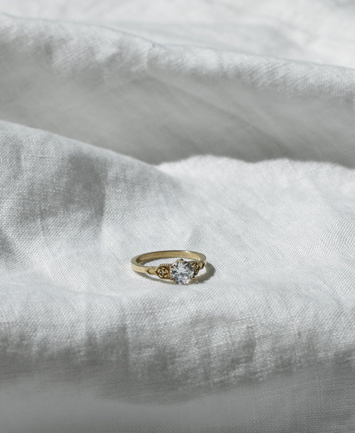 Eternal Engagement Ring 0.8ct | 14ct White Gold