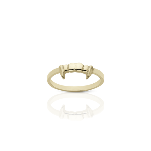 Fang Stacker Ring | Gold Plated