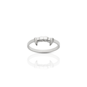 Fang Stacker Ring | Sterling Silver
