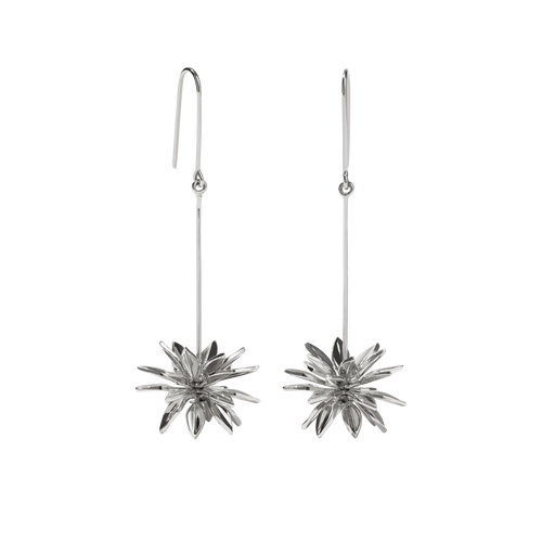 Fleur Drop Earrings | Sterling Silver