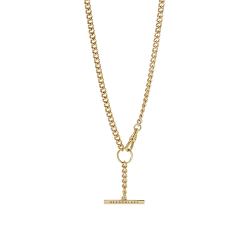 Fob Chain Necklace | 9ct Yellow Gold