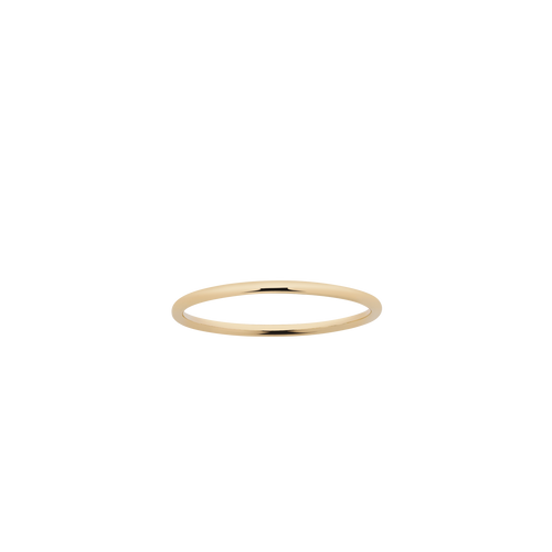 Halo Band 1mm | Gold Plated