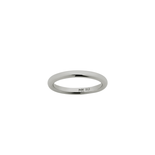 Halo Band 2.5mm | 18ct White Gold