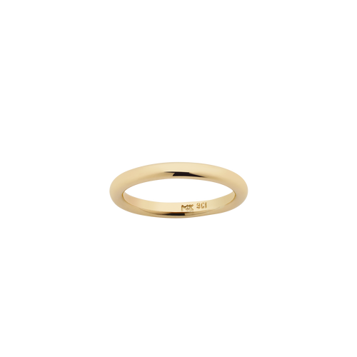Halo Band 2.5mm | 18ct Yellow Gold