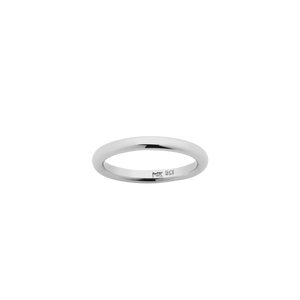 Halo Band 2.5mm | Sterling Silver