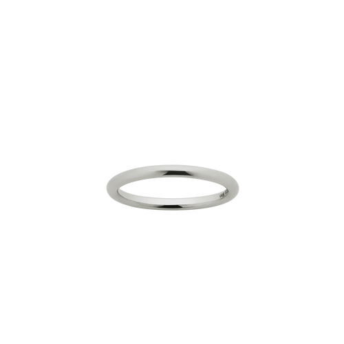 Halo Band 2mm | 14ct White Gold