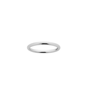 Halo Band 2mm | Sterling Silver