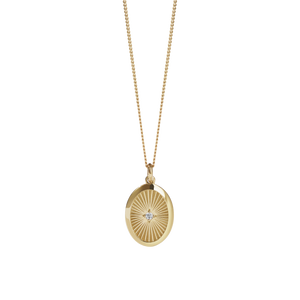 Inez Necklace | Gold Plated