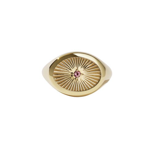Inez Signet Ring | 9ct Yellow Gold