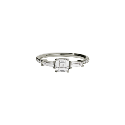 Juliet Ring | 18ct White Gold