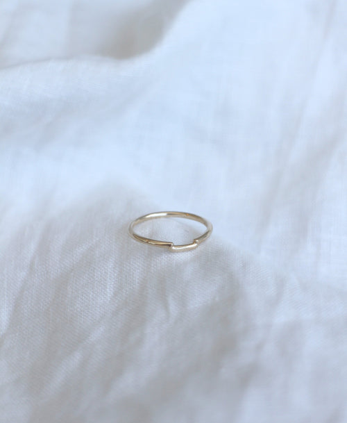 Juliet Band Plain | 18ct White Gold