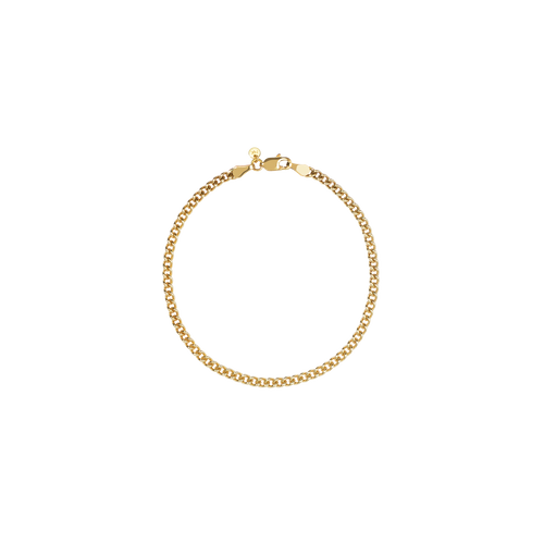 Curb Chain Bracelet | Gold Plated