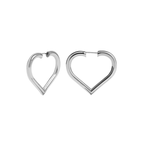 Love Hoops Medium | Sterling Silver