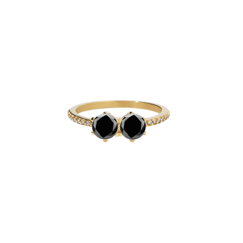 Luna Ring 1ct | 18ct Yellow Gold