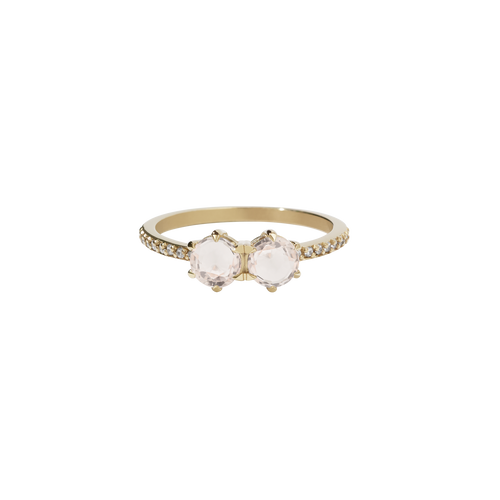 Luna Ring 1ct | 9ct Yellow Gold