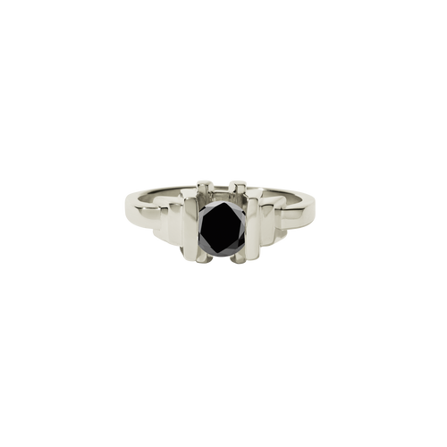 Metropolis Ring | 9ct White Gold