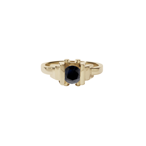 Metropolis Ring | 9ct Yellow Gold
