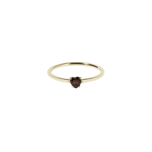 Micro Heart Ring | 9ct Yellow Gold