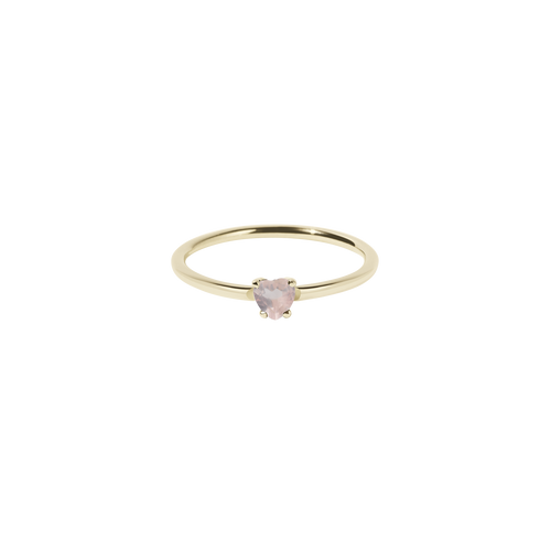 Micro Heart Ring | Gold Plated