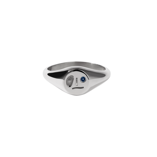 Miro Signet Ring | Sterling Silver