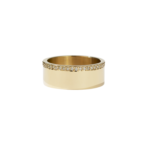 Outline Band | 14ct Yellow Gold