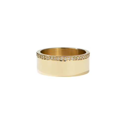 Outline Band | 18ct Yellow Gold