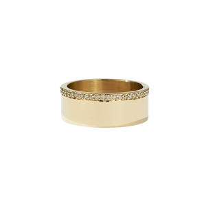Outline Band | 9ct Yellow Gold