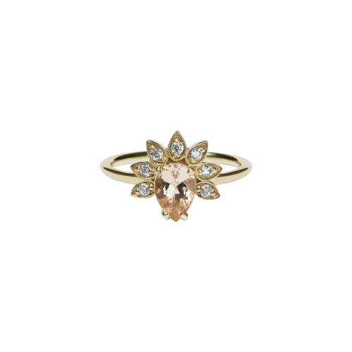 Petal Ring | 14ct Yellow Gold