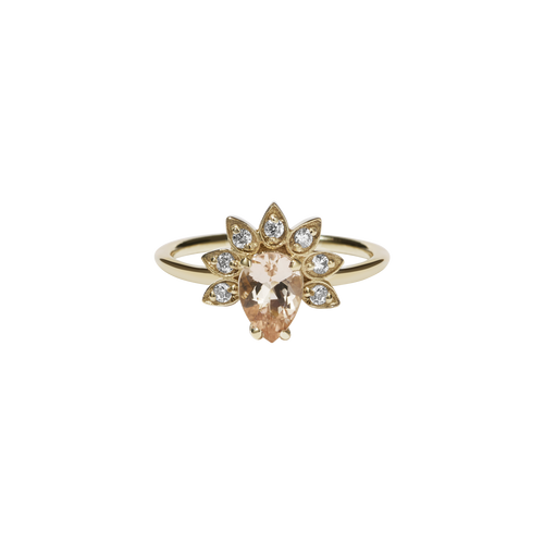 Petal Ring | 9ct Yellow Gold