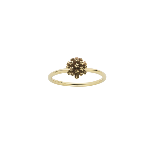 Pom Pom Stacker Ring | Gold Plated
