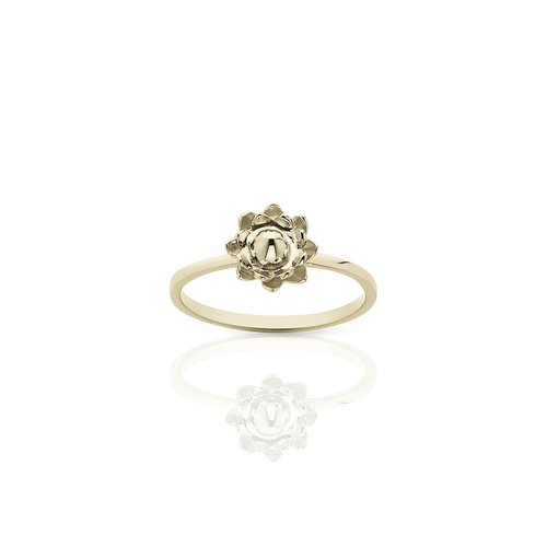 Protea Stacker Ring | Gold Plated