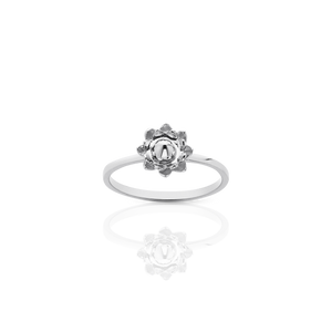 Protea Stacker Ring | Sterling Silver