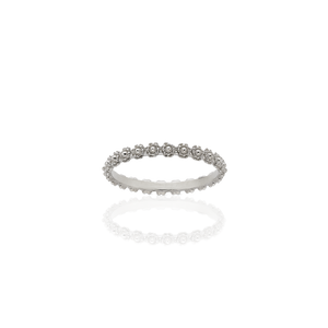 Protea Stacking Band | Sterling Silver