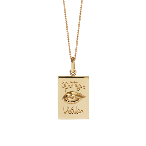 Proteger Necklace | Gold Plated