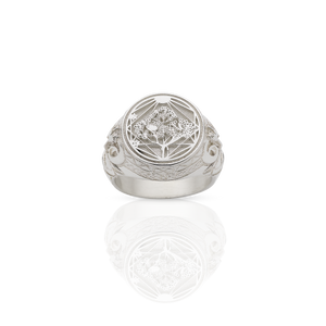 Ram Ring | Sterling Silver